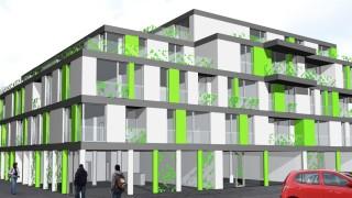 Polyfunkčný bytový dom,Žilina,ul.Dolný Val,2009,AŠ